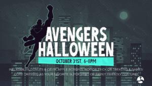 An Avengers Halloween Outreach