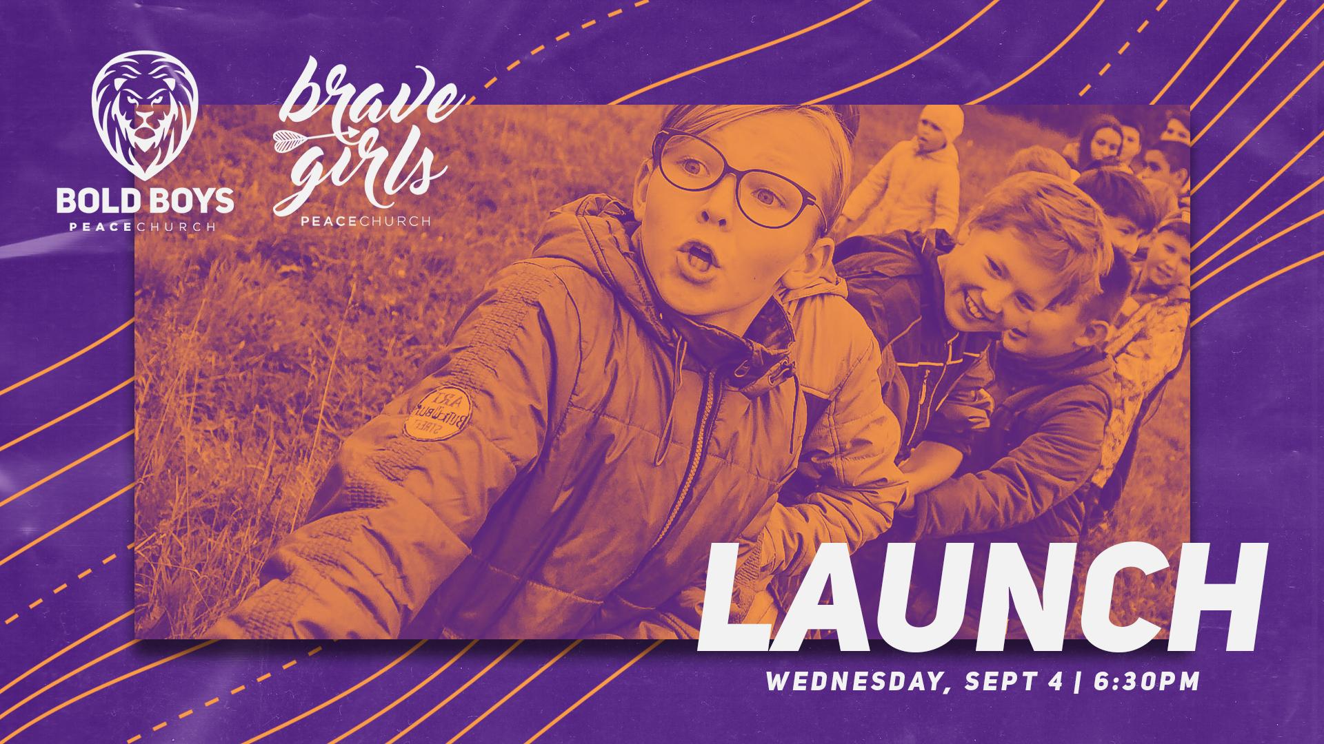 Bold Boys / Brave Girls Launch